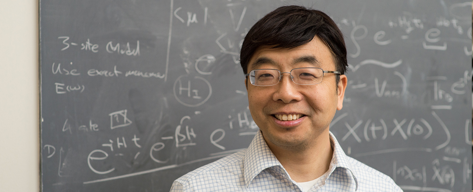 Photo of Professor Jianshu Cao