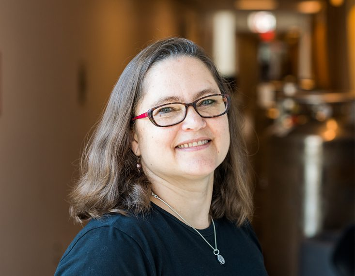 Photo of Professor Catherine Drennan