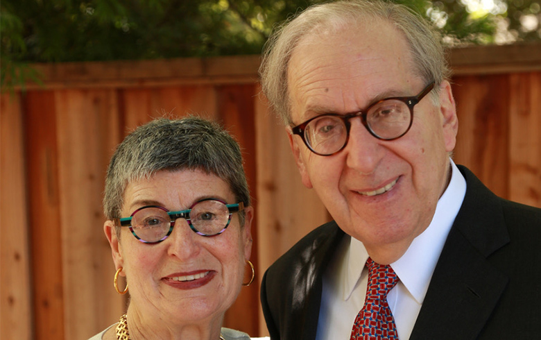 Judith Selwyn, PhD '71 (V) and Lee Selwyn, PhD '69, (XV)