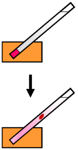 Image indicates convection in growing crystals.
