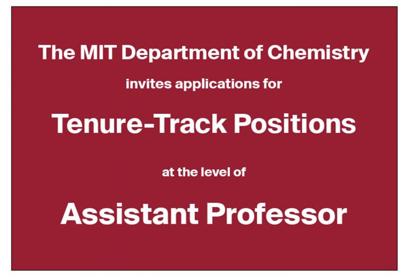 Job Posting Assistant Professor