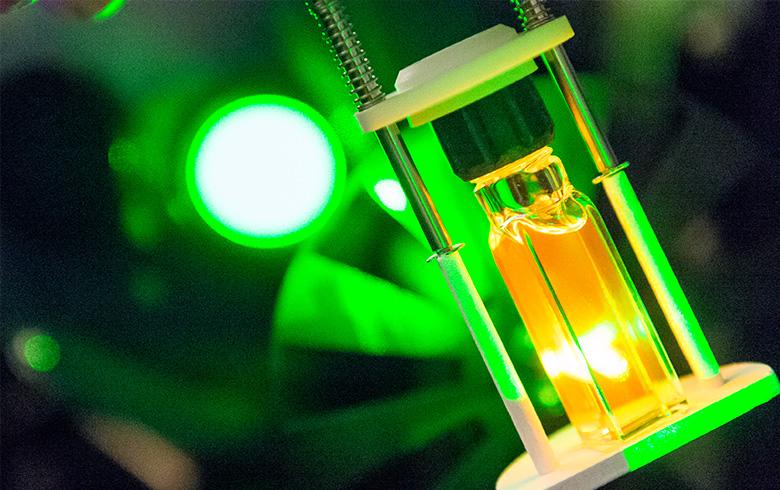 Image of quantum dots