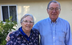 A photo of Charles and Kim Wade