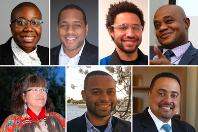 Photos of the MLK Scholars.