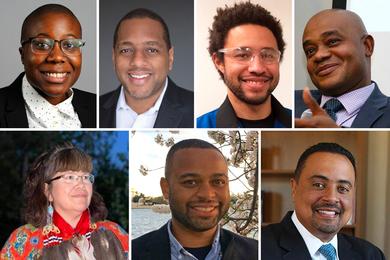 Photos of the MLK Scholars.