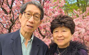 A photo of Lan Wong and Deborah Chung.