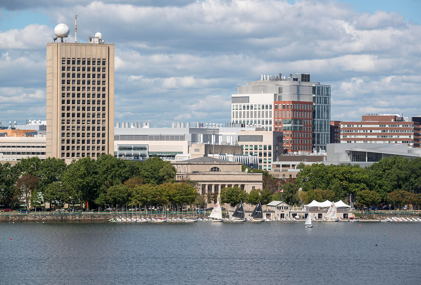 A view of MIT campus from across the Charles River