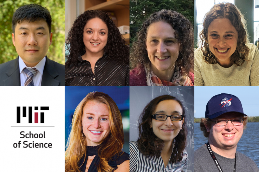 Headshots of the new faculty members described in the caption.